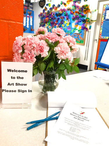 Please sign in! Our Art Show welcomes you as if a gallery!