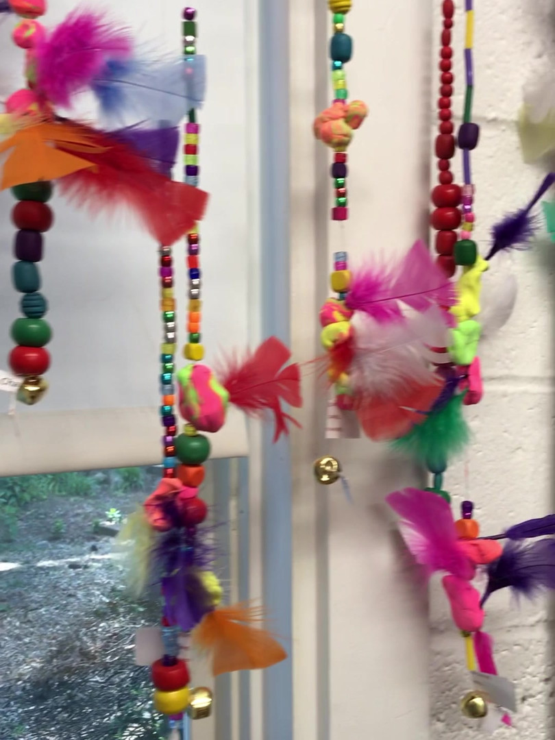 We are in the spirit to make spirit beads!