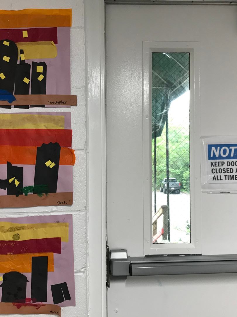 Here are great escapes through cityscapes! Our cleverly positioned door must not be a coincidence.
