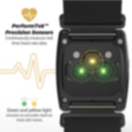 Rhythm24 擁有超高精準度的心率監測技術