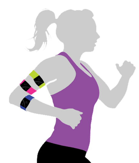 Rhythm24手臂式心跳帶 提供多種顏色款式