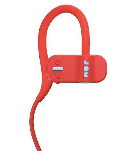 Live Fast 藍牙耳機採用造型按鍵設計