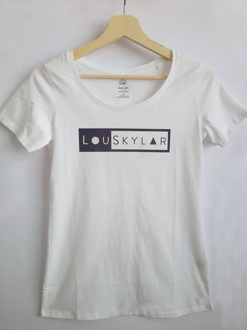 LouSkylar Street Female Tee (White)