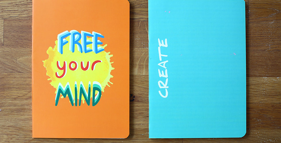 2li Set Free Your Mind + Create - A5 Defter