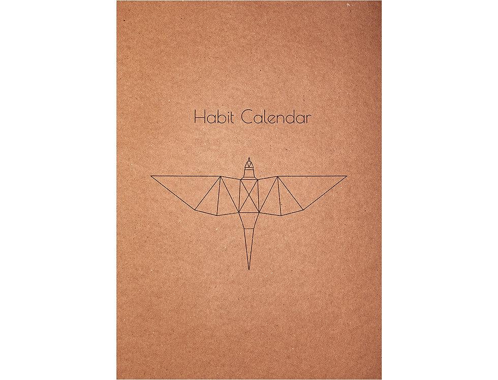 Alışkanlık Takvimi - 21 Gün Planlayıcı / Habit Calender - 21 Day Planner