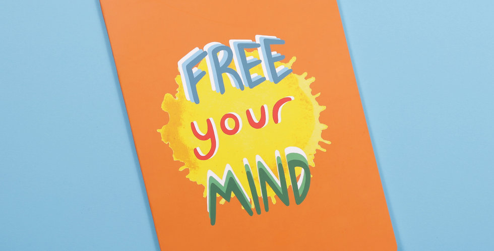 Free Your Mind - A5 Defter