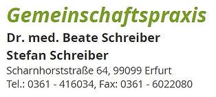 Hausarzt Erfurt Allgemeinmedizin