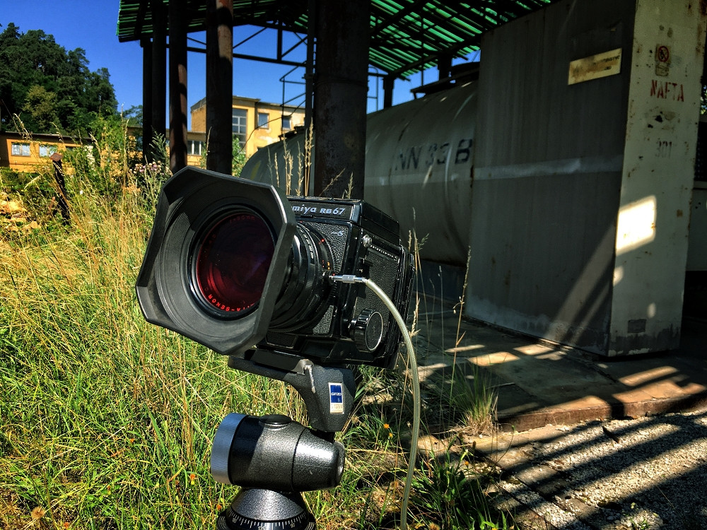 Camera Set-Up outside of the factory