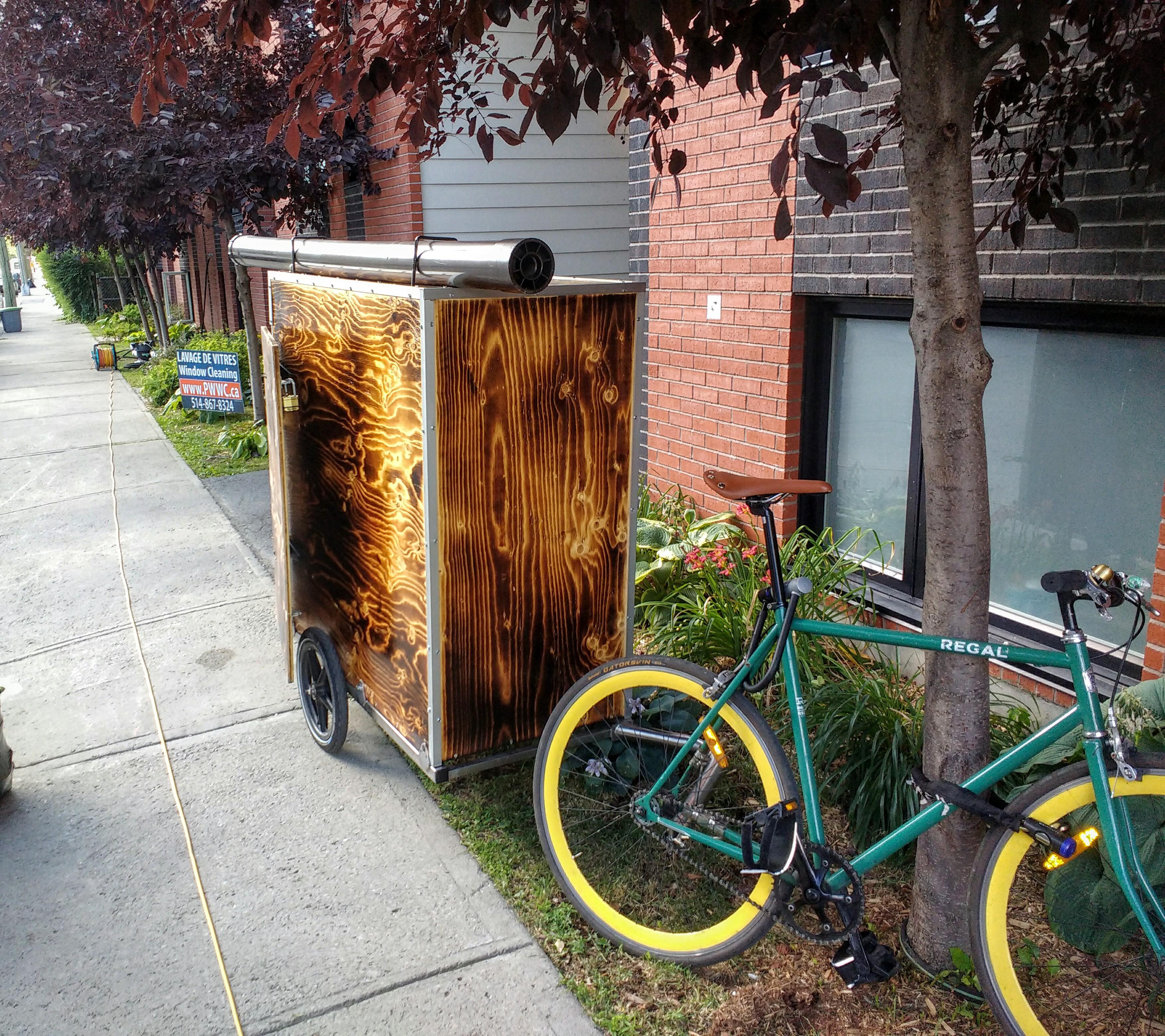 bike trailer St. Marguerite
