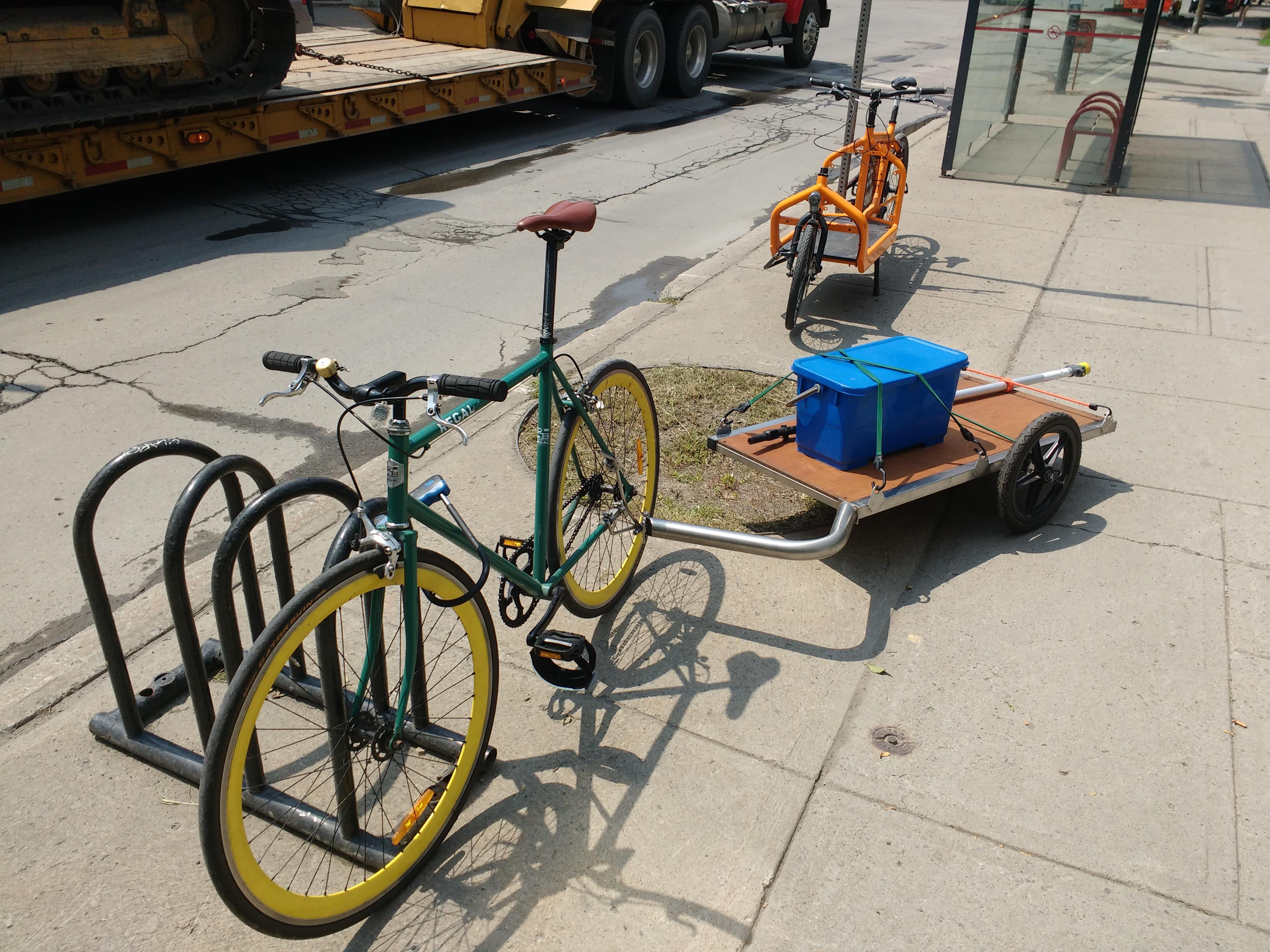 bike trailer St. Henri
