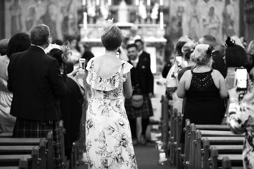 unplugged edinburgh church wedding