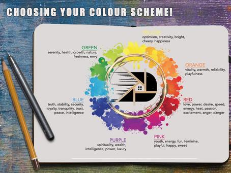 Choosing your colour scheme!