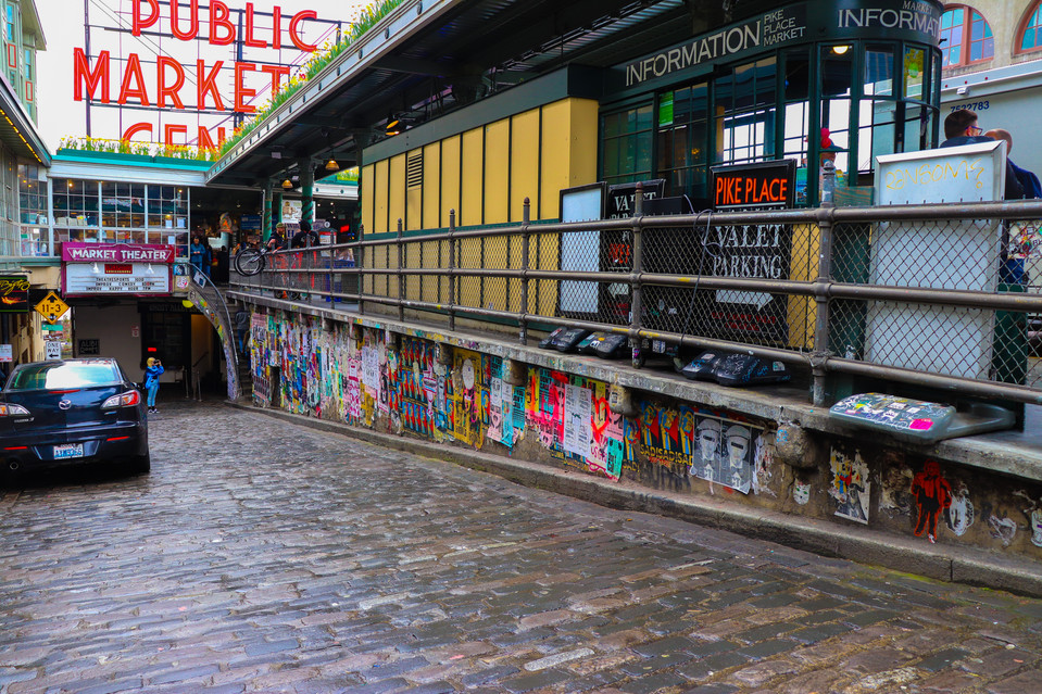 The Great Gum Wall - Seattle