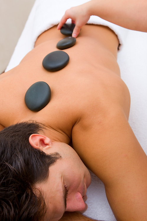 120 Minute Warm Stone Massage