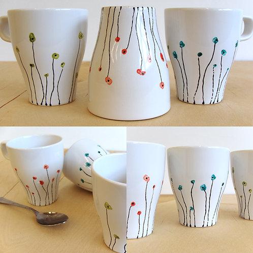 Poppy Mugs