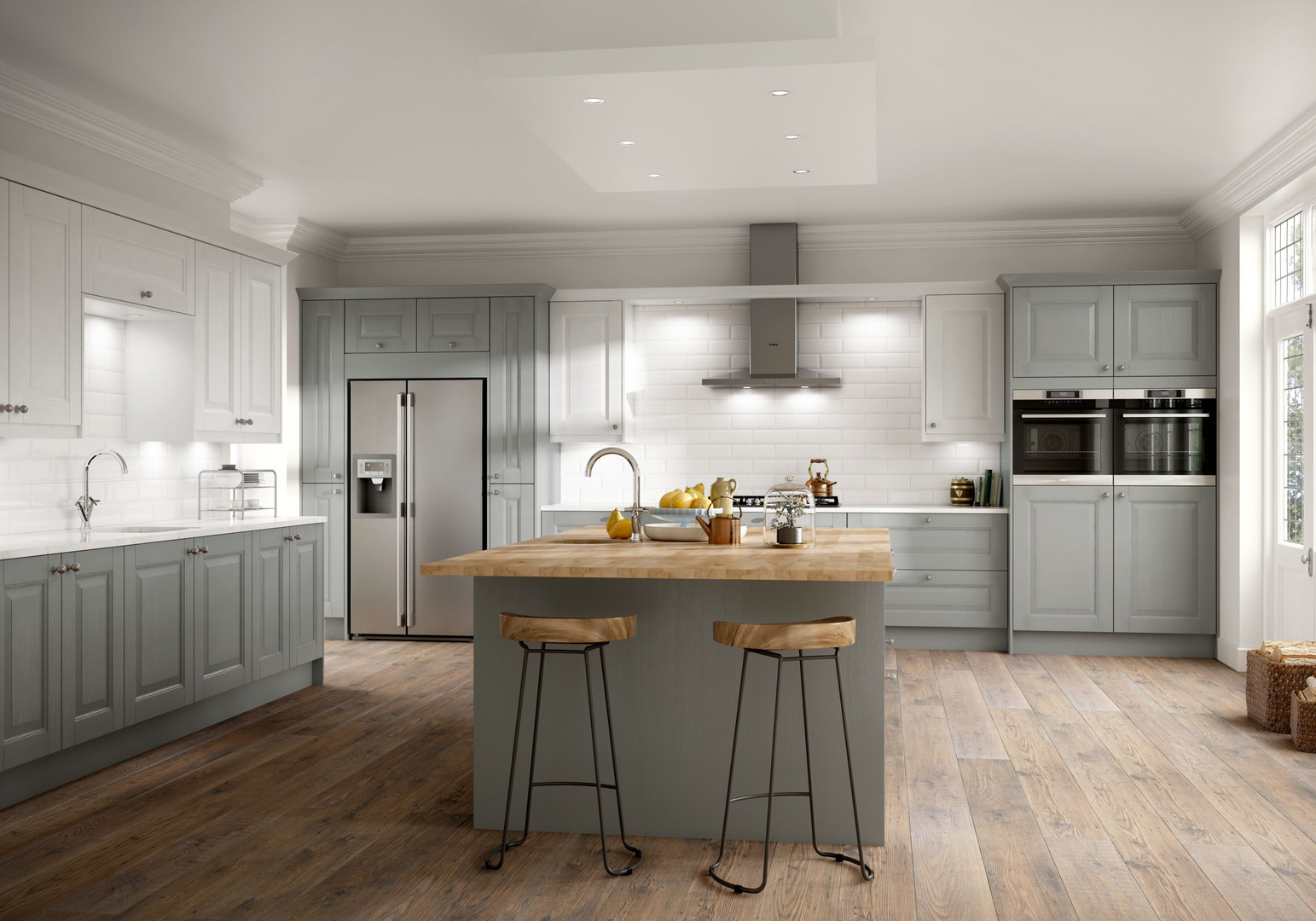 Wexford Cobble Grey and Chalk White Main