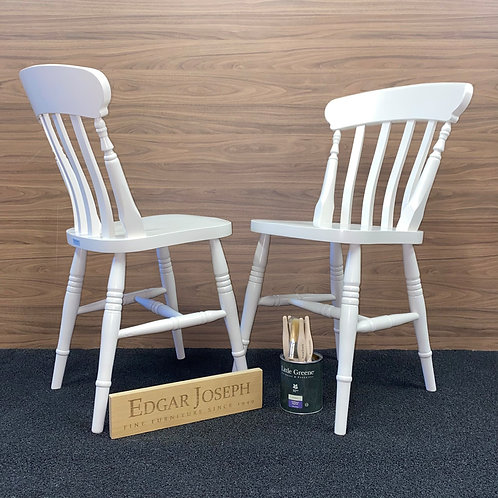 Farmhouse Slat Back Chairs