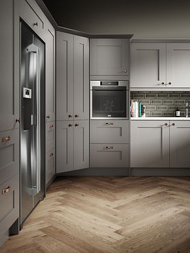 Cranbrook Cobble Grey and Platinum Detai