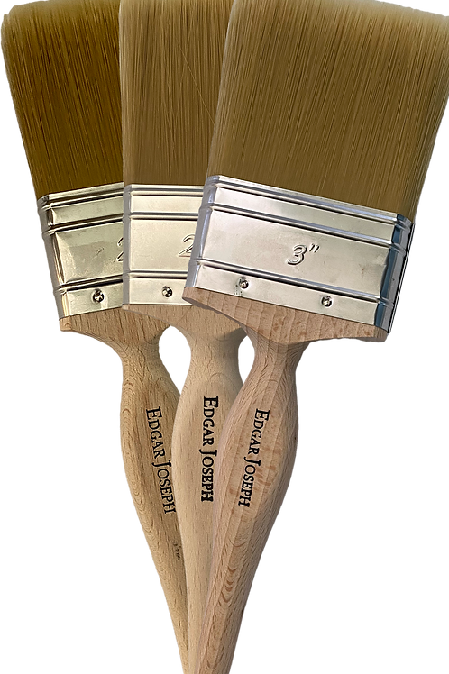 Pack of 3 Edgar Joseph Medium Paint Brushes