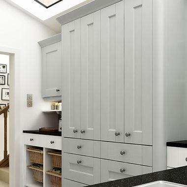 Ashbourne PTO Dove Grey and Chalk White
