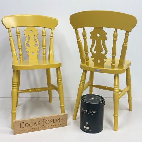 Farmhouse Fiddle Back Chairs