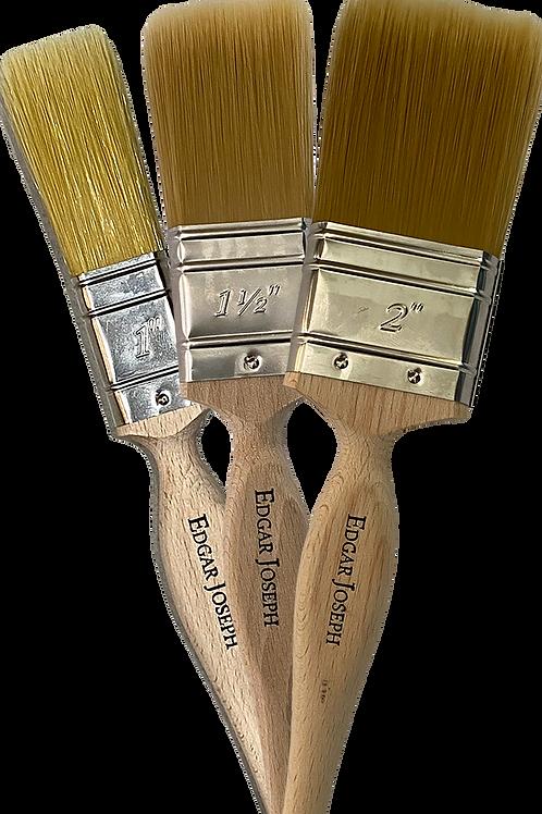 Pack of 3 Edgar Joseph Small Paint Brushes