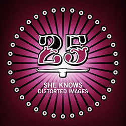 Music - Cover She Knows Distorted Images EP  - BAR25