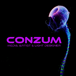 She Knows & Conzum - Music and Visuals Live