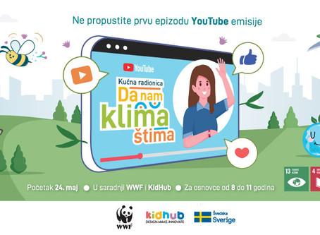 WWF i KidHUb: YouTube emisija za decu o klimatskim promenama