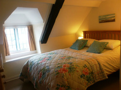 Double bed in 2nd bedroom