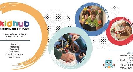 KIDHUB organizuje promociju novih programa 22. marta