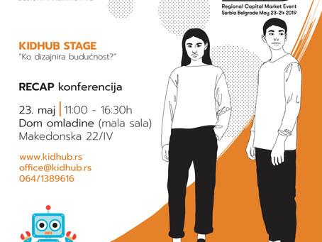 KidHub na Recapu: Changemakers - Ko dizajnira našu buducnost?