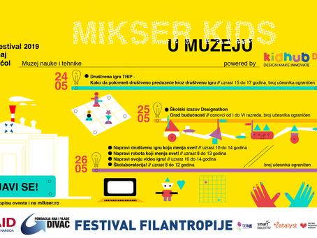 KidHUB radionice na Mikser festivalu