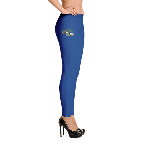 Money Line Universal Leggings Blue