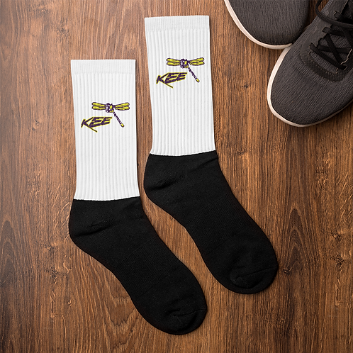 "Who dont want ""KEE the Dragonfly"" socks in nay boots........."