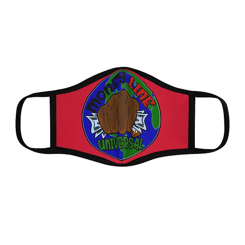 Money Line Universal G Fitted Mask Red