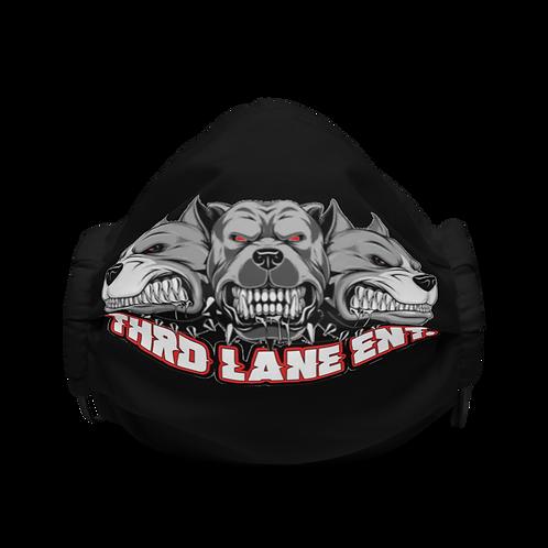 Thrd Lane 2 Face Mask - Black