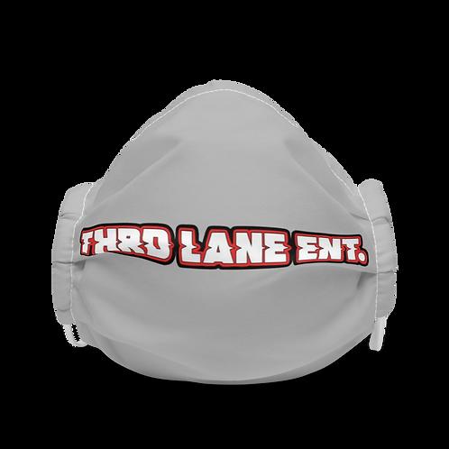 Thrd Lane Face Mask - Light Gray