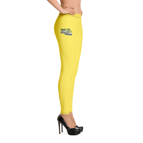 Money Line Universal Leggings Yellow