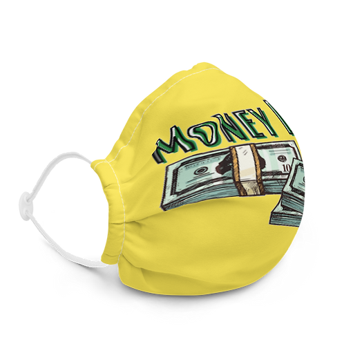 Money Line Universal Face Mask Yellow