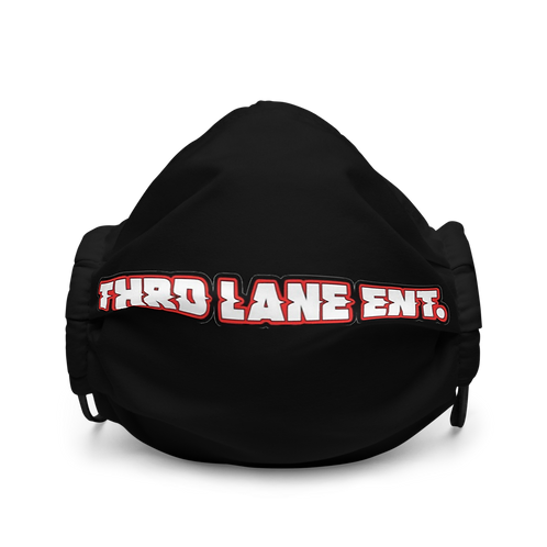 Thrd Lane Face Mask - Black