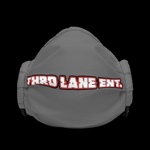 Thrd Lane Face Mask - Gray