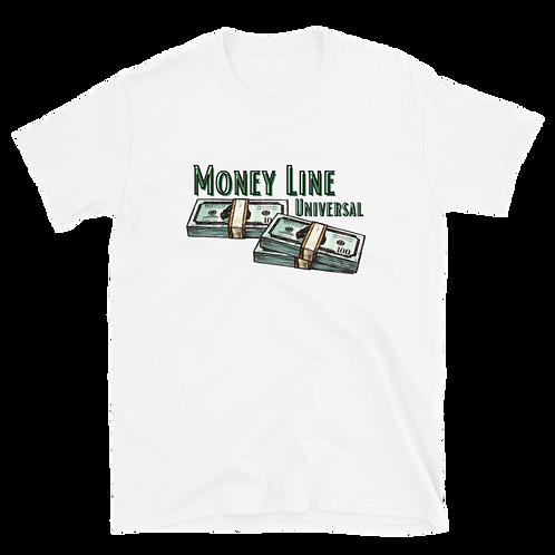 Money Line Short-Sleeve Unisex T-Shirt