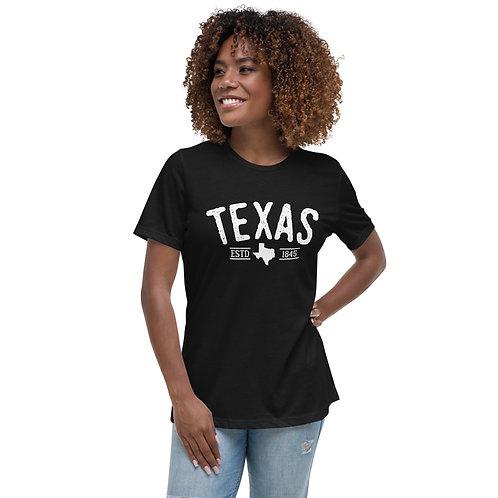 TEXAS 1845 | Women's Bella+Canvas Relaxed T-Shirt 6400