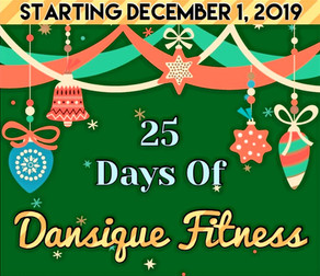 25 Days of Dansique Fitness