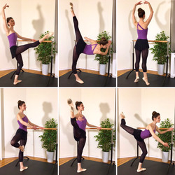 Cardio Ballet Barre YouTube Workout