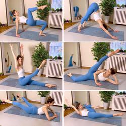 45 Minute Yoga Pilates YouTube Class