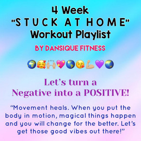 "4 Week ""STUCK AT HOME"" Workout Playlist"