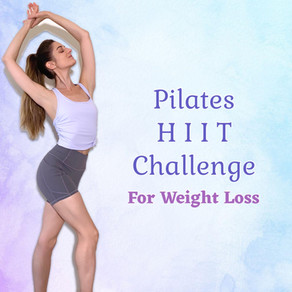 Pilates HIIT Challenge for Weight Loss & Lean Muscles!