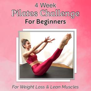 4 Week Pilates Challenge for Beginners!
